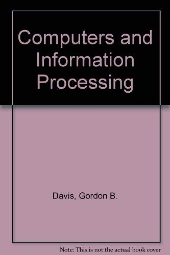 9780070155640: Computers and Information Processing