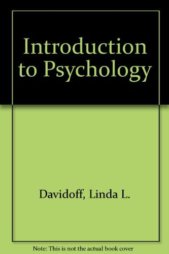 9780070155701: Introduction to Psychology