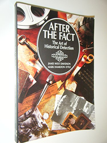 9780070156098: After the Fact: The Art of Historical Detection