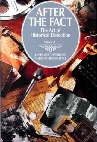 9780070156111: After the Fact: the Art of Historical Detection: Vol II