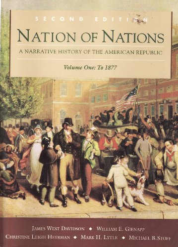 9780070156357: Nation of Nations: A Narrative History of the American Republic, Vol. 1, to 1877