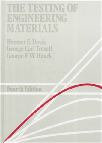 9780070156562: Testing of Engineering Materials