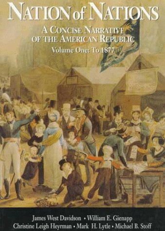 9780070157392: Vol. I Nation of Nations: A Concise Narrative of the American Republic