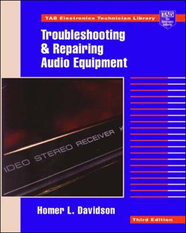 9780070157569: Troubleshooting and Repairing Audio Equipment (TAB Electronics Technician Library)