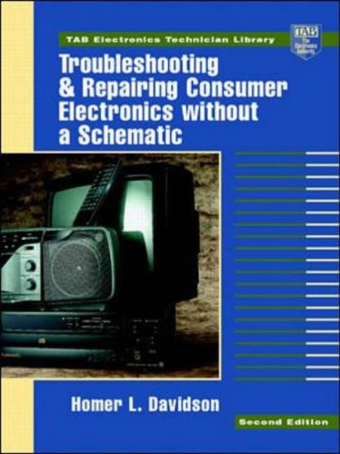 9780070157644: Troubleshooting and Repairing Consumer Electronics Without a Schematic