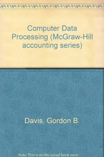9780070157750: Computer Data Processing