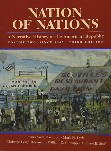 9780070157996: Nation of Nations: A Narrative History of the American Republic, Volume II