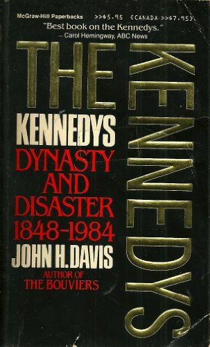 9780070158627: Kennedys: Dynasty and Disaster