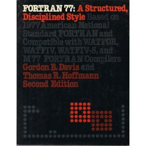 9780070159037: Fortran 77: A Structured, Disciplined Style