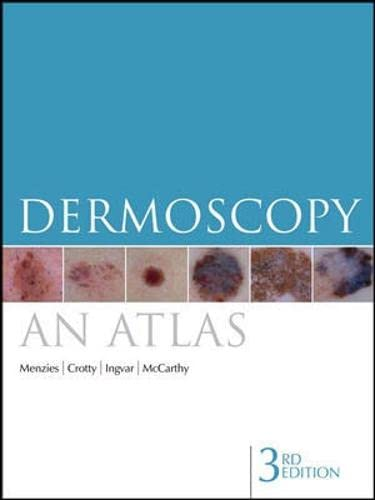 9780070159099: Dermoscopy: An Atlas 3e (Australia Healthcare Medical Medical)