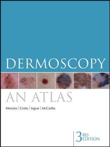 9780070159099: Dermoscopy: An Atlas 3e (Australia Healthcare Medical Medical)