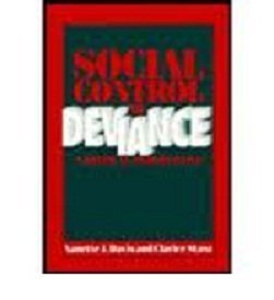 9780070159303: Social Control of Deviance