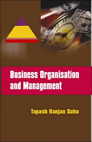 9780070159471: Business Organization and Management