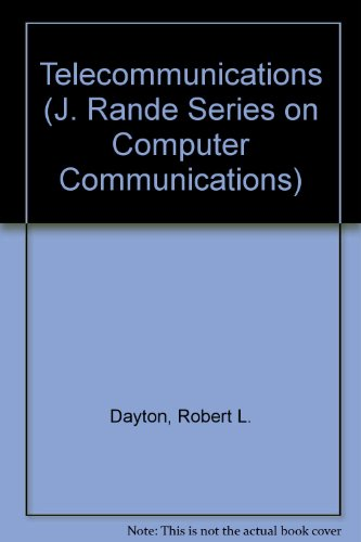 9780070161894: Telecommunications: The Transmission of Information (J. Rande Series on Computer Communications)
