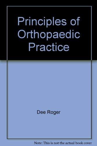 9780070162020: Principles of Orthopaedic Practice