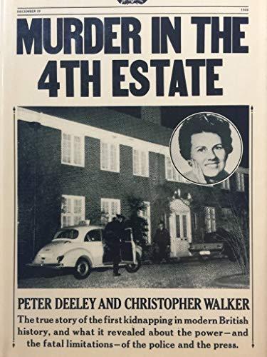 9780070162143: Murder in the fourth estate