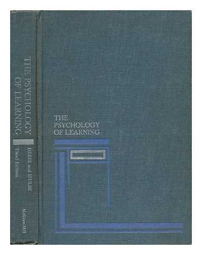 9780070162365: The Psychology of Learning