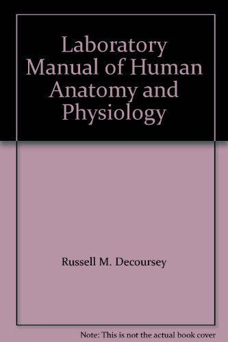 9780070162396: Laboratory Manual of Human Anatomy and Physiology