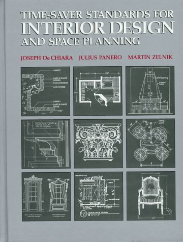 9780070162990: Time-saver Standards for Interior Design and Space Planning