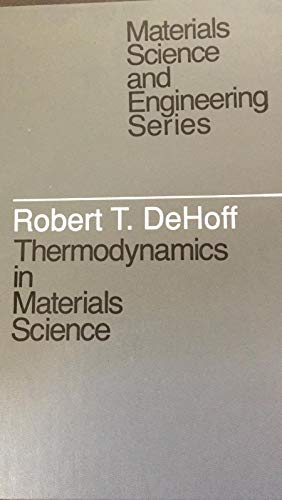 9780070163133: Thermodynamics in Materials Science (Mcgraw Hill Series in Materials Science and Engineering)