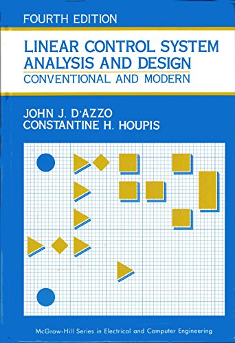 9780070163218: Linear Control System Analysis And Design: Conventional and Modern