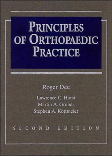 9780070163560: Principles of Orthopaedic Practice