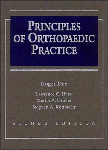 9780070163560: Principles of Orthopaedic Practice
