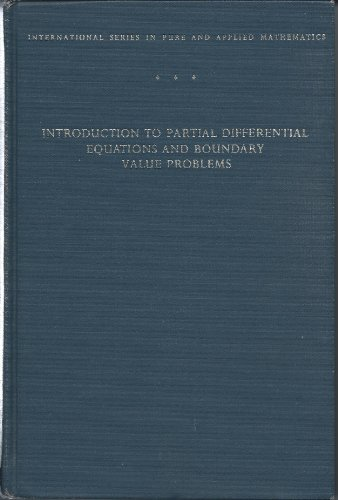 9780070163966: Introduction to Partial Differential Equations and Boundary Value Problems (Pure & Applied Mathematics)