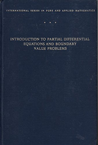 9780070163966: Introduction to Partial Differential Equations and Boundary Value Problems