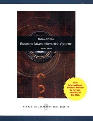 9780070164482: Business Driven Information Systems