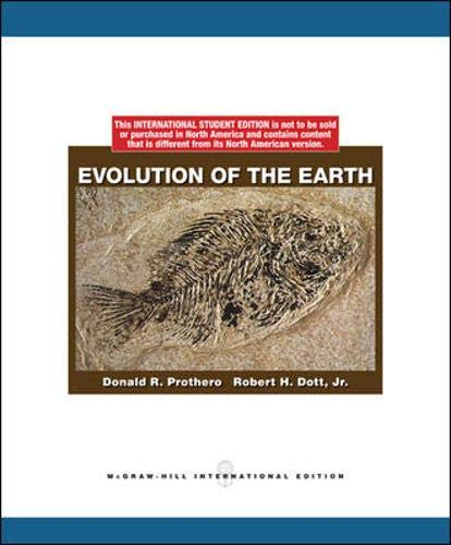 9780070164598: Evolution of the Earth
