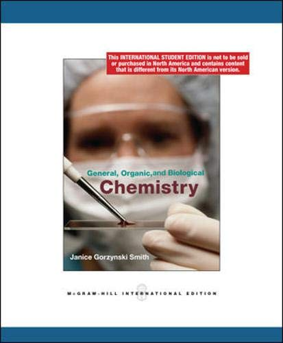 9780070164826: General, Organic and Biological Chemistry
