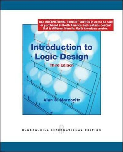 9780070164901: Introduction to Logic Design (Int'l Ed) (College Ie Overruns)