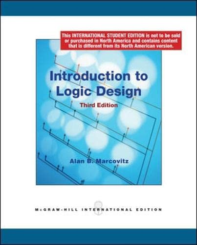 9780070164901: Introduction to Logic Design (McGraw-Hill paperbacks)