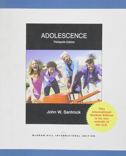 9780070164987: Adolescence