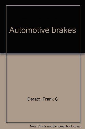 9780070165038: Automotive brakes