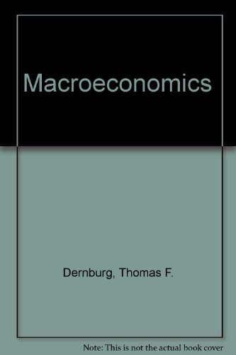 9780070165267: Macroeconomics: The measurement, analysis, and control of aggregate economic activity