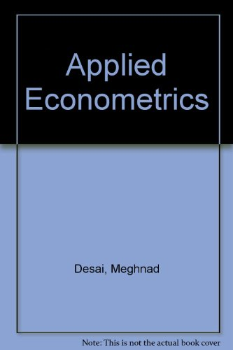 9780070165410: Applied Econometrics