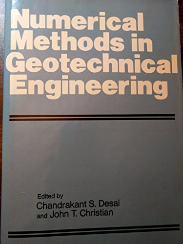 9780070165427: Numerical Methods in Geotechnical Engineering (McGraw-Hill series in modern structures)
