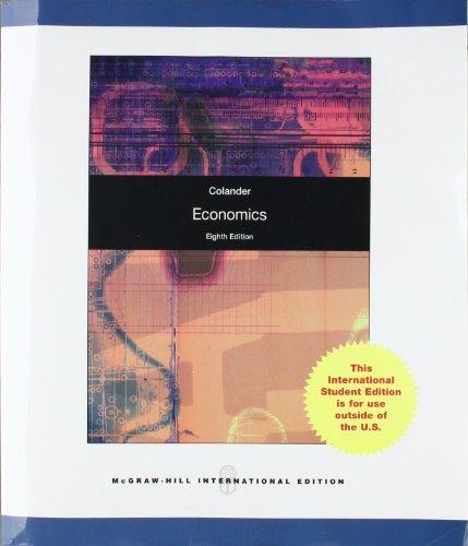 9780070165588: Economics