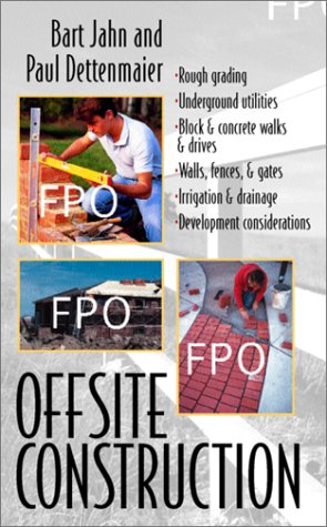 9780070165618: Offsite Construction