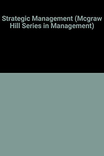 9780070165694: Strategic Management (Mcgraw Hill Series in Management)