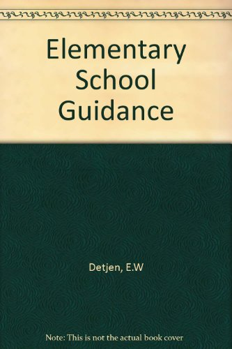 9780070165861: Elementary School Guidance
