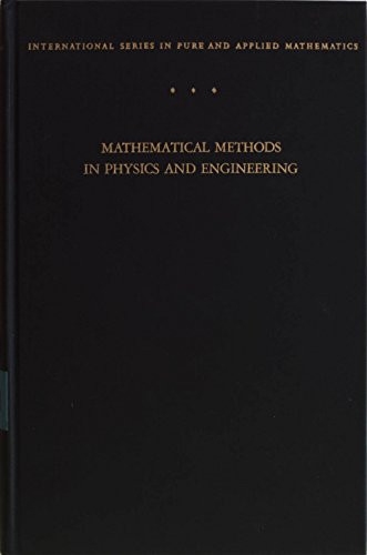 9780070165977: Mathematical Methods in Physics and Engineering (Pure & Applied Mathematics)