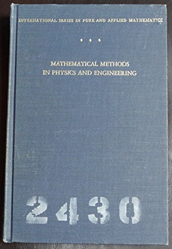 9780070165977: Mathematical methods in physics and engineering.