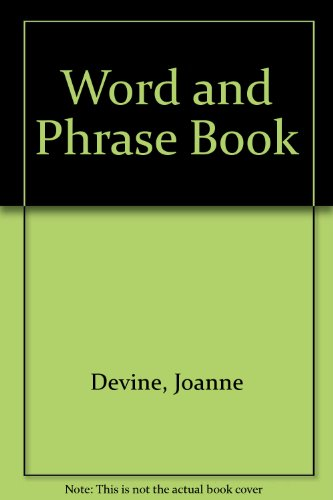 Word and Phrase Book: Devine, Joanne