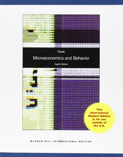 9780070166745: Microeconomics and Behavior