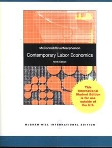 9780070166752: Contemporary Labor Economics