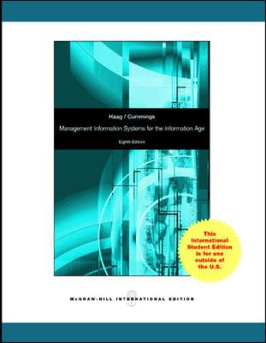 9780070167094: Management Information Systems for the Information Age