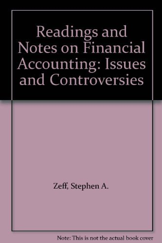 9780070167261: Financial Accounting: Theory, Issues and Controversies, Notes and Edited Readings